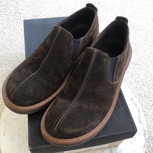 Ecco Shoes   New Mens Suede Size 9